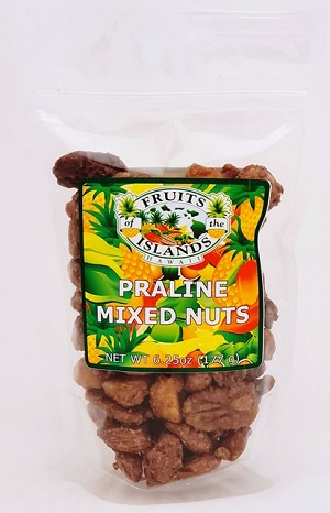 Fruits of the Islands Praline Mixed Nuts 6.25oz